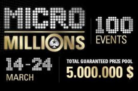 Auksas - Lietuvos atstovas MicroMillions serijoje iškovojo pirmąją vietą!