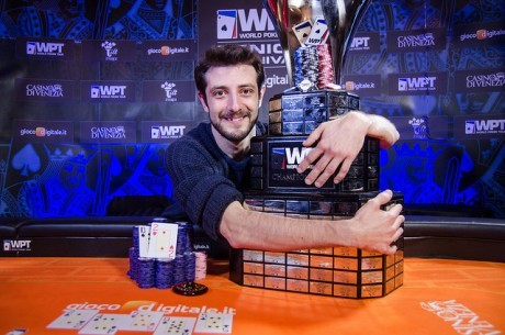Andrea Dato Takes Down WPT Venice in Third Attempt