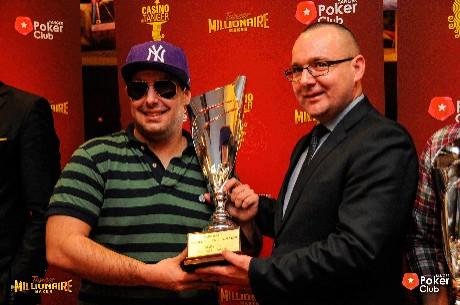 Diogo Miranda Venceu o Tanger Millionaire Maker (€72,727)