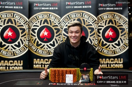 "Hao ""HoHo"" Chen Tops Asia's Largest Tournament Field Ever To Win Macau Millions"