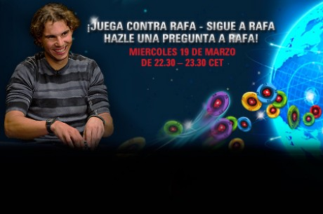 Rafa Nadal reta a los jugadores de póker de todo el mundo