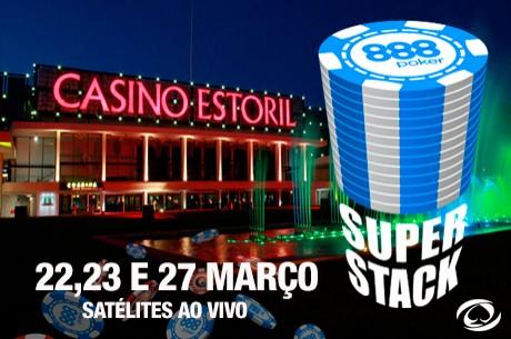 Satélites ao Vivo para o Portugal Super Stack no Casino Estoril (22,23 e 27 Março)