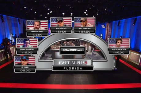 WPT Alpha8 on FOX Sports 1 Florida Part I: The First Hand, Alligators & Mercier's Pad