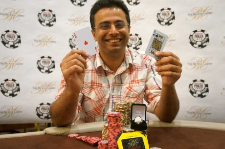 Nipun Java Defeats Shane Schleger Heads Up to Win WSOP Circuit Bicycle Casino Main Event