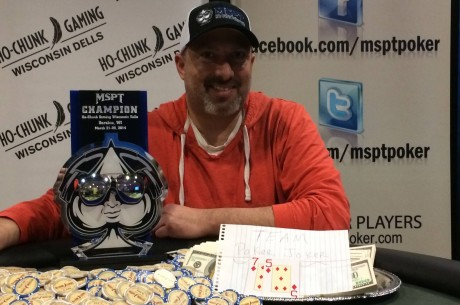 Jason Sell Wins 2014 Mid-States Poker Tour Ho-Chunk Gaming Wisconsin Dells for $97,539