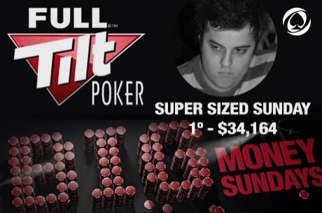 Tiago Dias Vence Super Sized Sunday ($34k); Joel Dias em 5º e André Moreira 3º no Big Ben