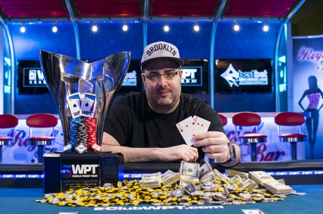 WPT Jacksonville bestbet Open Day 2: Season XII Champ Jaffee Leads; Mercier Still Alive