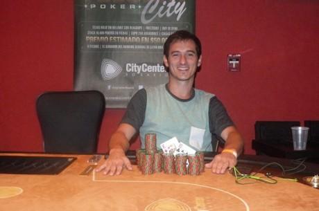 El Tuesday Poker City quedó en manos de Ramiro Graells