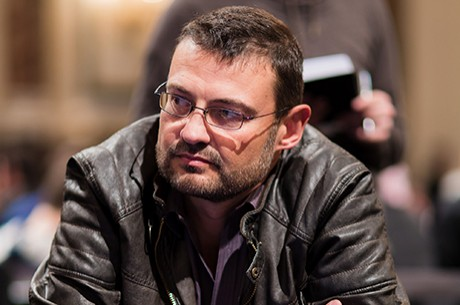 Rumen Nanev no Dia 5 do Main Event PokerStars.net EPT Viena