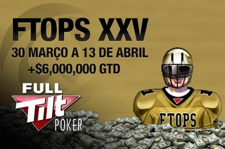 Full Tilt Online Poker Series XXV Arrancam Hoje às 18:30