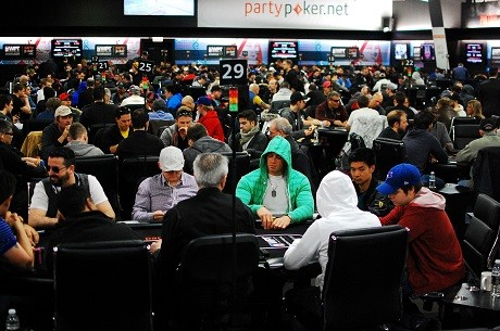 Day 2 of partypoker WPT Canadian Spring Championship