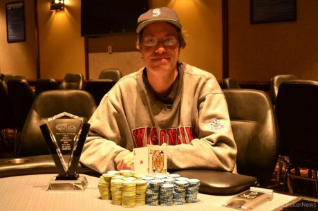 Tristran Coffin Wins Event #3 of Western New York Poker Challenge