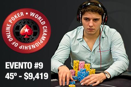 "José Quintas 45º ($9,419) & Tom ""hitthehole"" Middleton Vence ME WCOOP..."