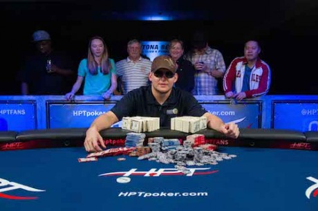 Wes Holland Wins Heartland Poker Tour Daytona Beach Kennel Club for $80,993