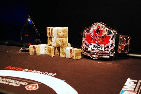 Jason Comtois Wins partypoker WPT Canadian Spring Championship