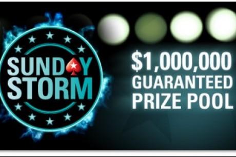 Trzecie urodziny Sunday Storm z pulą gwarantowaną $1,000,000 już 13 kwietnia!