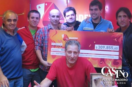 Madero Summer Cup: Gabriel Mega es el campeón de la fecha y Diego Estévez finaliza primero en...