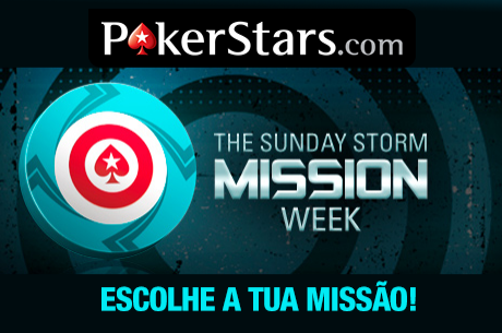 Mission Week Sunday Storm na PokerStars