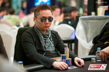 2014 PokerStars.net APPT Season 8 Seoul Main Event Day 1b: Raiden Kan Grabs Lead