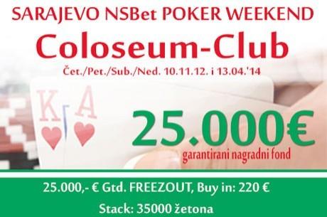 Uskoro Sarajevo NSBet Poker Vikend 10-13. Aprila