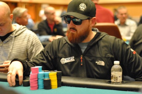 MSPT Meskwaki Casino Day 1a: Matt Kirby Leads Record Field