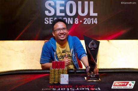 Chane Kampanatsanyakorn Wins PokerStars.net APPT Seoul Main Event