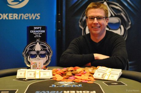 Matthew Anderson Wins 2014 Mid-States Poker Tour Meskwaki Casino for $100,075