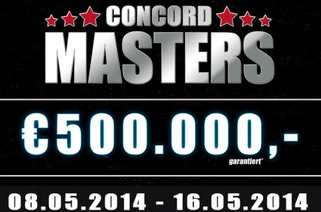 Zakwalifikuj się do €500,000 Concord Masters Main Event na William Hill!