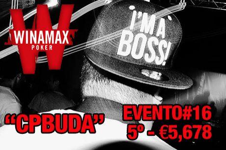 "Carlos ""Buda"" Pedro é 4º no Evento #16 Winamax Series (€5,678.28)"