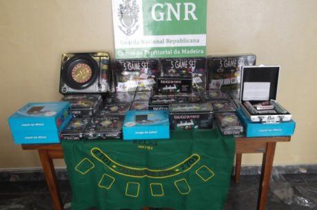 GNR apreende material de jogo ilegal na Ribeira Brava