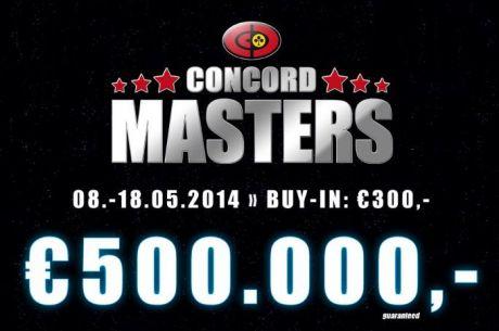 Concord Masters U Beču Proslavlja Svoju Premijeru sa Nagradnim Fondom od € 500,000