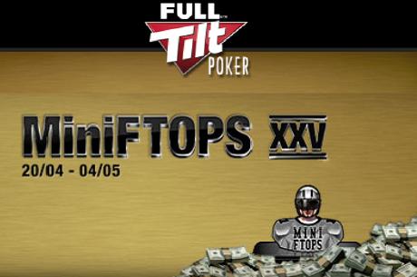 MiniFTOPS XXV започва в неделя 20 април с $200k и Black Card Pro пакет