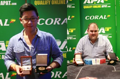 2014 WCOAP: Tristan Chaplin Wins Main Event; Pak To Wins Heads-Up Event
