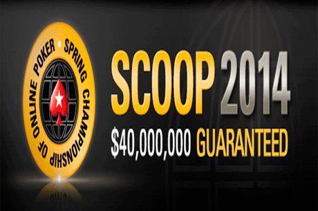 PokerStars garantiza 40M$ en sus Spring Championship of Online Poker (SCOOP)
