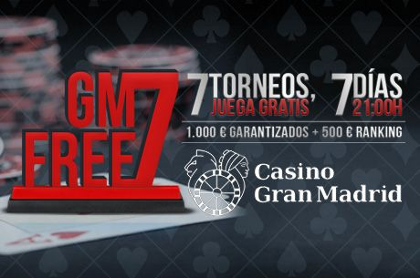 Hoy comienzan las series gratuitas Gran Madrid Free 7 con 1.500€ en premios