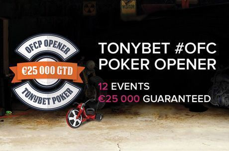 """Amazing"" Start to Tonybet OFC Tourney Series, Says Tony G"