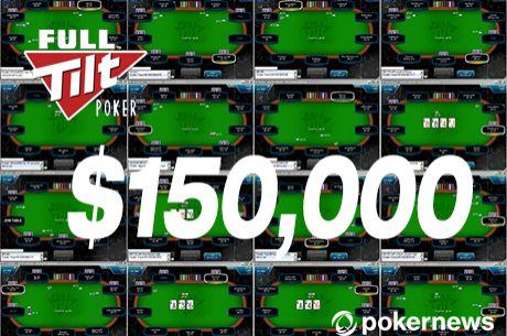 Noite de Sonho na Full Tilt Poker: $150,000 a Caminho de Portugal