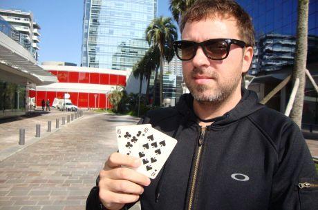 """Entrevista a Mario López: """"Sería muy interesante representar a una sala de póker"""""""