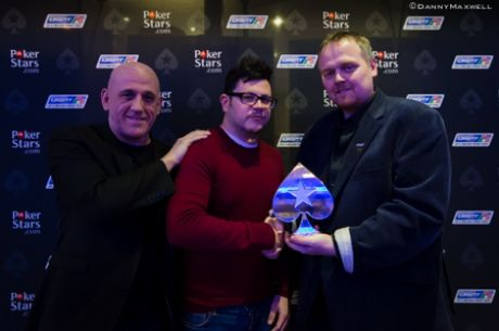 Dave Shallow and Richard Kellett Chop the 2013 UKIPT Nottingham High Roller