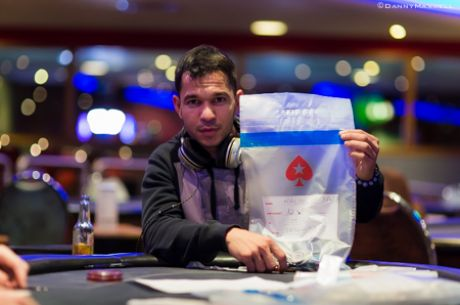2014 UKIPT Nottingham Main Event Day 1a: Mauricio Baez Tops the Counts
