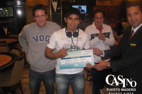 Adrían Huarachi se queda con el Madero Experience