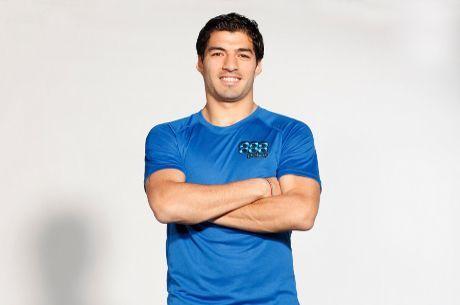La Estrella de futbol Uruguayo Luis Suárez se une a 888 como Team Pro