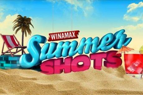 Winamax Summer Shots serijos priziniame fonde garantuojama 1,500,000 eurų