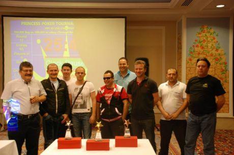 Ο Κωνσταντίνος Νάνος κατακτά το Princess Poker Tournament 3