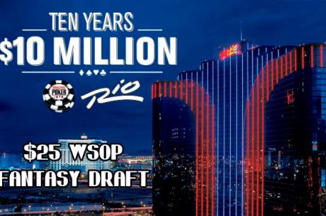 $25K WSOP Fantasy Draft - As Equipas