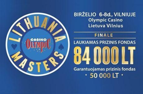 """Netrukus prasidės registracija į """"Lithuania Masters"""" turnyrą"""