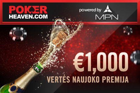 Poker Heaven kambaryje jūsų laukia dvi įspūdingos premijos!
