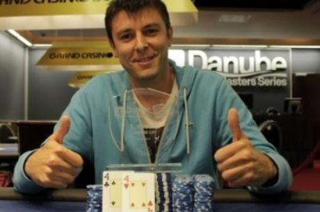 Počeo Sedmi Danube Poker Masters u Grand Casinu; Milan Rakić Pobednik Warm Up za 753,000 rsd!