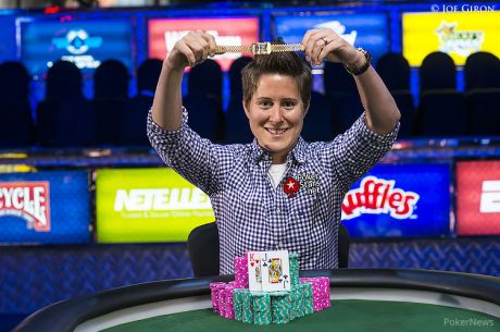 2014 World Series of Poker Day 4: Vanessa Selbst i jej historyczna trzecia bransoletka, Mercier...