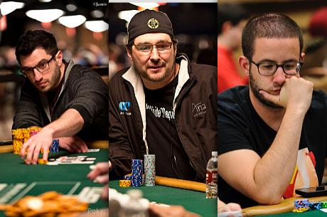 WSOP 2014: Galfond, Hellmuth e Merson na Luta por Braceletes